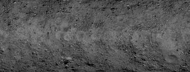 Esta asombrosa fotografía del asteroide Bennu ocupa 900MB y cada uno de sus píxeles corresponde a 5 cm reales