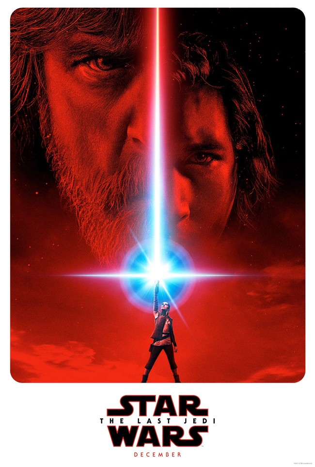 Cartel de Star Wars The Last Jedi