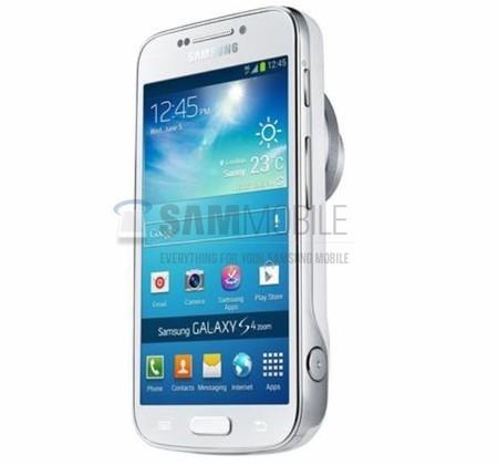 Samsung Galaxy S4 Zoom, se filtra la primer imagen de la variante del buque insignia con gran cámara
