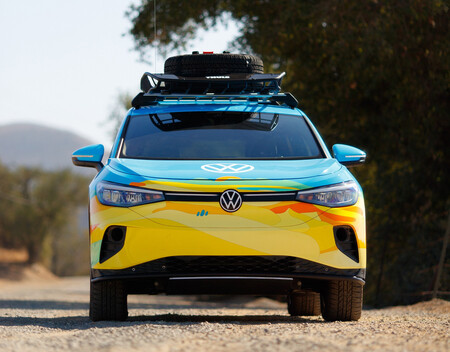 Volkswagen Id4 Gtx Rebelle Rally 1