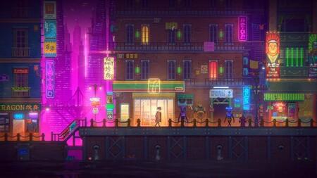 Tales of the Neon Sea está para descargar gratis en la Epic Games Store y te lo quedas para siempre