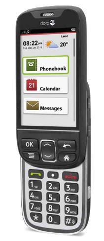 Doro PhoneEasy 740, ideado para los más mayores