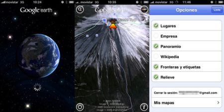 Google Earth 2.0 para iPhone e iPod touch