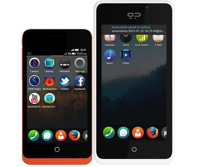 Firefox OS teléfonos
