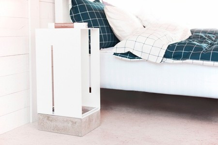 Bases de hormigón para unos muebles que tanto valen para un roto como para un descosido