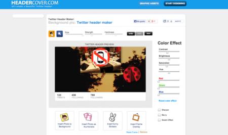 Header Cover, crea una cabecera y un avatar para Twitter en