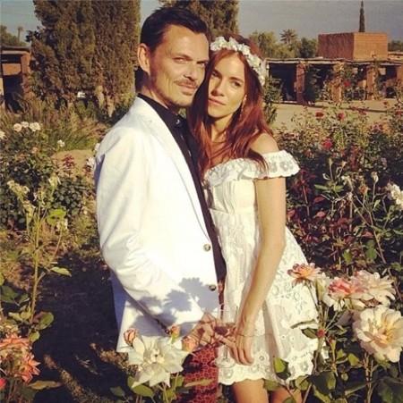 Sienna Miller boda