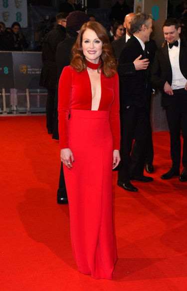 BAFTA 2015, las mejor vestidas de la alfombra roja