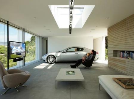 El aparcamiento-salón de Holger Schubert, premio al mejor diseño de garajes Design Driven