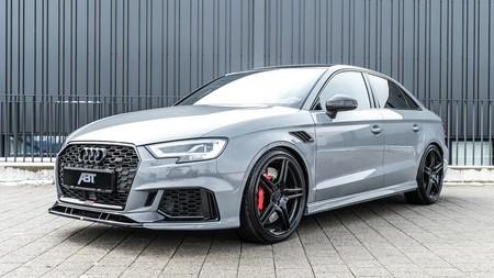 ABT exprime el Audi RS 3 Sedán hasta los 500 CV y crea una bestia de Autobahn que alcanza 300 km/h