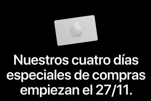 Apple anuncia los descuentos que aplicará por la compra de productos durante el Black Friday