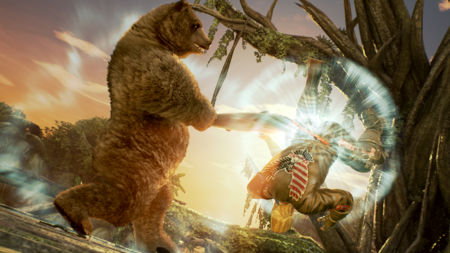 Kuma Tekken7 Screenshot6