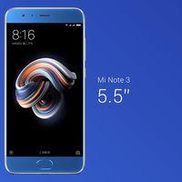 Xiaomi Mi Note 3, cámara dual, modo belleza avanzado y pantalla de 5,5 pulgadas