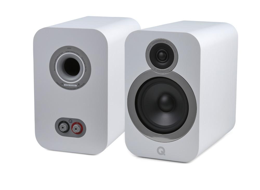 En un tamaño más compacto pero sin perder calidad de audio, así son los nuevos Q Acoustics Q 3030i.