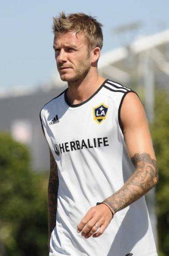 David Beckham y la horterada que se ha tatuado