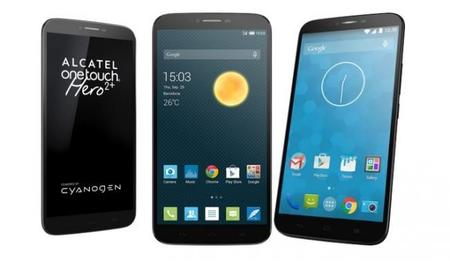 Alcatel Hero Cyan 710x414