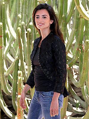 Penélope Cruz posa en Lanzarote