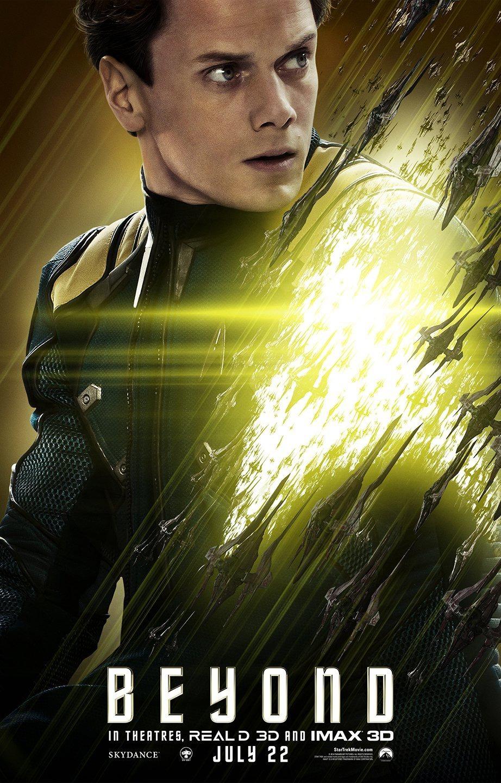 Foto de 'Star Trek: Más allá', nuevos carteles de los protagonistas (7/9)