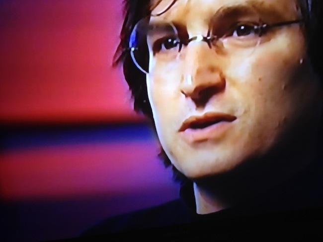 Steve Jobs entrevista perdida primer plano