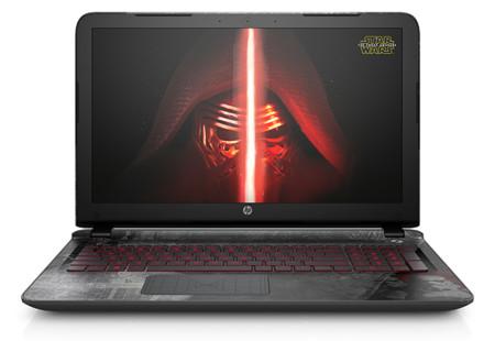 HP quiere ganarse la cuota de mercado Sith con su portátil edición especial Star Wars