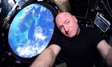 Un año desde el espacio: el mapa de tweets del astronauta Scott Kelly