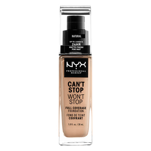 Can'T Stop Won'T Stop Full Coverage Foundation NYX Professional Makeup