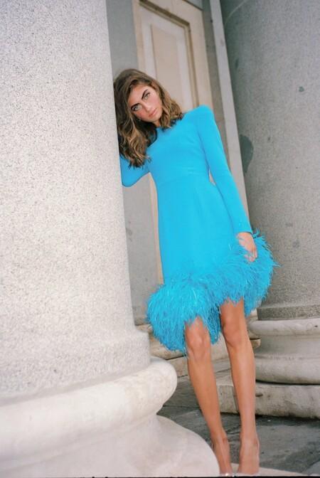 Vestido de invitada de Redondo Brand