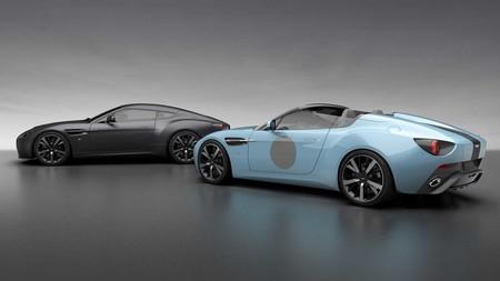 Aston Martin rinde tributo a Zagato en su centenario con dos versiones especiales del Vantage V12