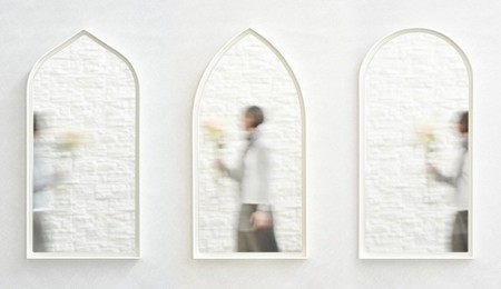 Espejos inspirados en clásicas ventanas venecianas