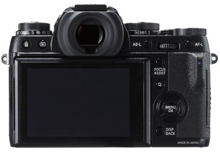 Fujifilm X-T1 Trasera