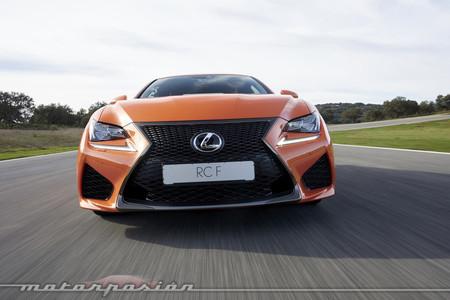 Lexus RC F Contacto - prueba Ascari
