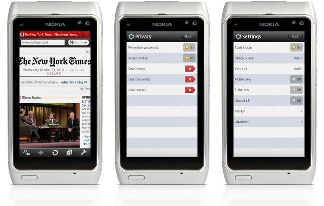Opera Mini 5.1 beta llega a Symbian, ahora con código nativo