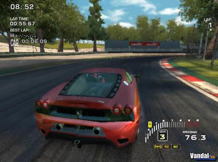 'Ferrari Challenge' también en PS2