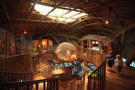 Soneva Kiri by Six Senses abre el espacio The Den, una cabaña gigante para niños en vacaciones