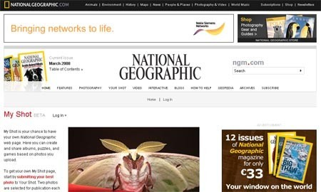 "National Geographic lanza ""Myshot"""