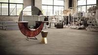 Recicladecoración: cuando el pelo se convierte en materia prima para muebles y complementos