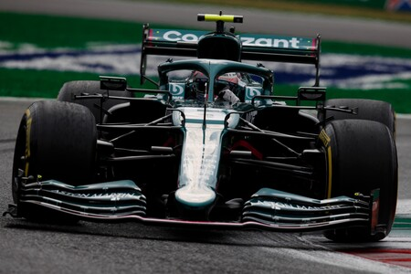 Vettel Italy F1 2021 3