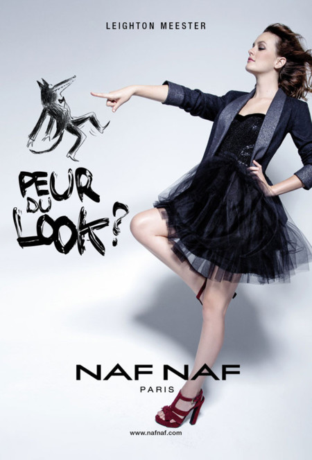 Leighton Meester para Naf Naf Otoño-Invierno 2013/2014 ¡lovely!