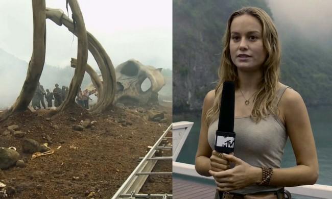 Brie Larson y las primeras imágenes de Kong: Skull Island