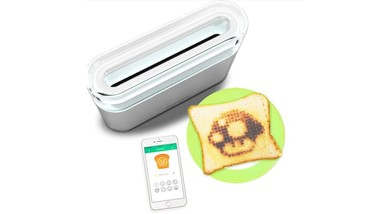 Toasteroid, un tostador que dibujará imágenes personalizadas en tus rebanadas de pan