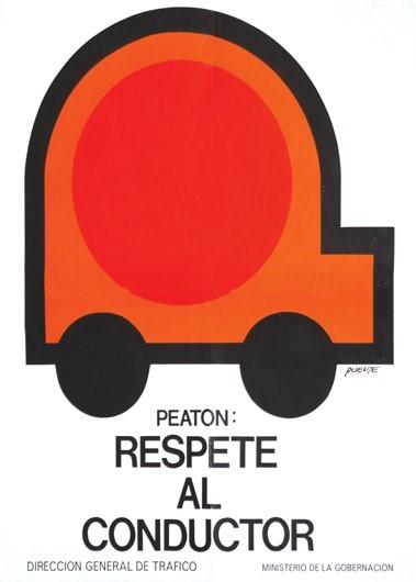 1976 Peaton Respete Al Conductor