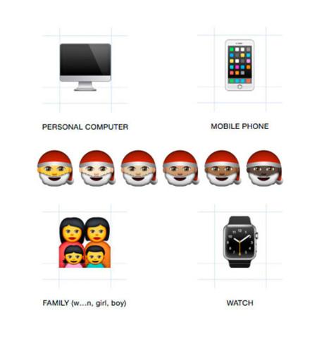 Emojis Ios Os X