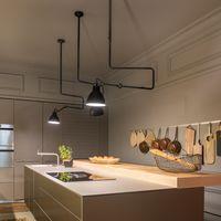 Personalizar la cocina con molduras, la elegancia es tendencia en 2018