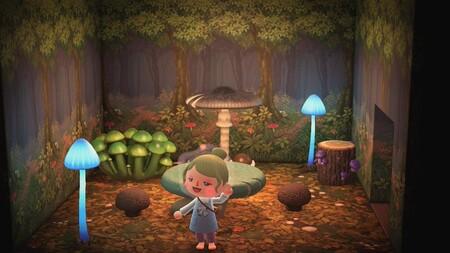 Animal Crossing: New Horizons: todos los proyectos y materiales del set de champiñones