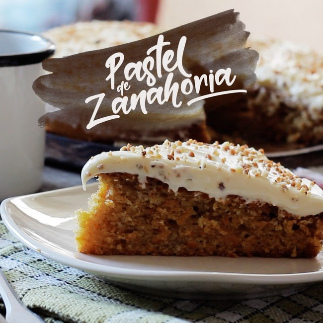 Pastel Zanahorias
