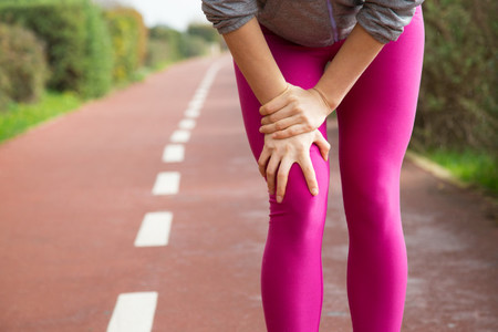 Jogger Mujer Medias Color Rosa Lesion Rodilla 1262 18227