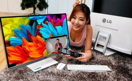 V720, el ordenador todo en uno de LG hace su aparición con un monitor IPS HD de 27 pulgadas