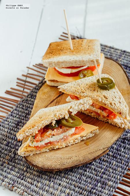 Receta Facil Ideas Lunch Saludables Regreso A Clases Sandwich Caprese Americano