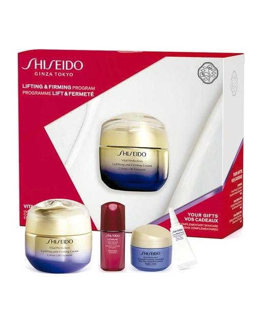 Estuche de regalo Vital Perfection Uplifting And Firming Cream Value de Shiseido.