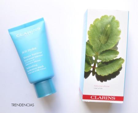 ¿Tu piel pide hidratación desesperadamente?: probamos la mascarilla SOS Hydra de Clarins